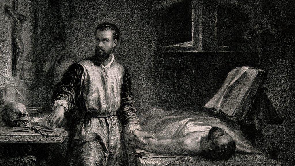 Andres Vesalio el primer doctor que vio un caso de Muerte cerebral