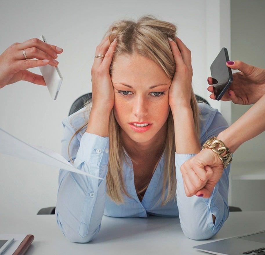Inflamación del cerebro por estrés