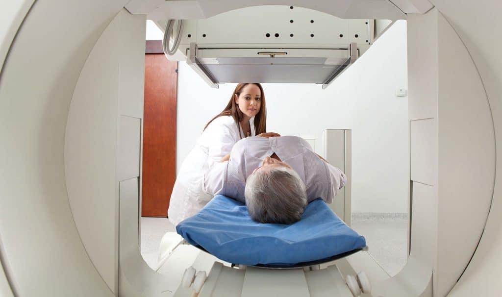 Prueba de gamagrama en Muerte cerebral