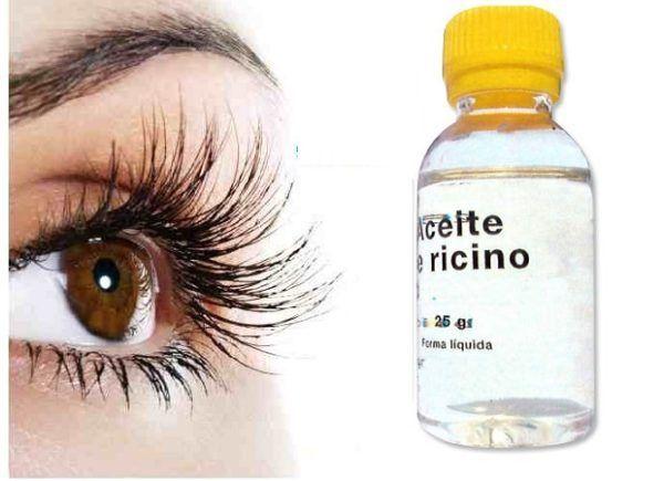 Aceite de ricino para limpieza de Blefaritis
