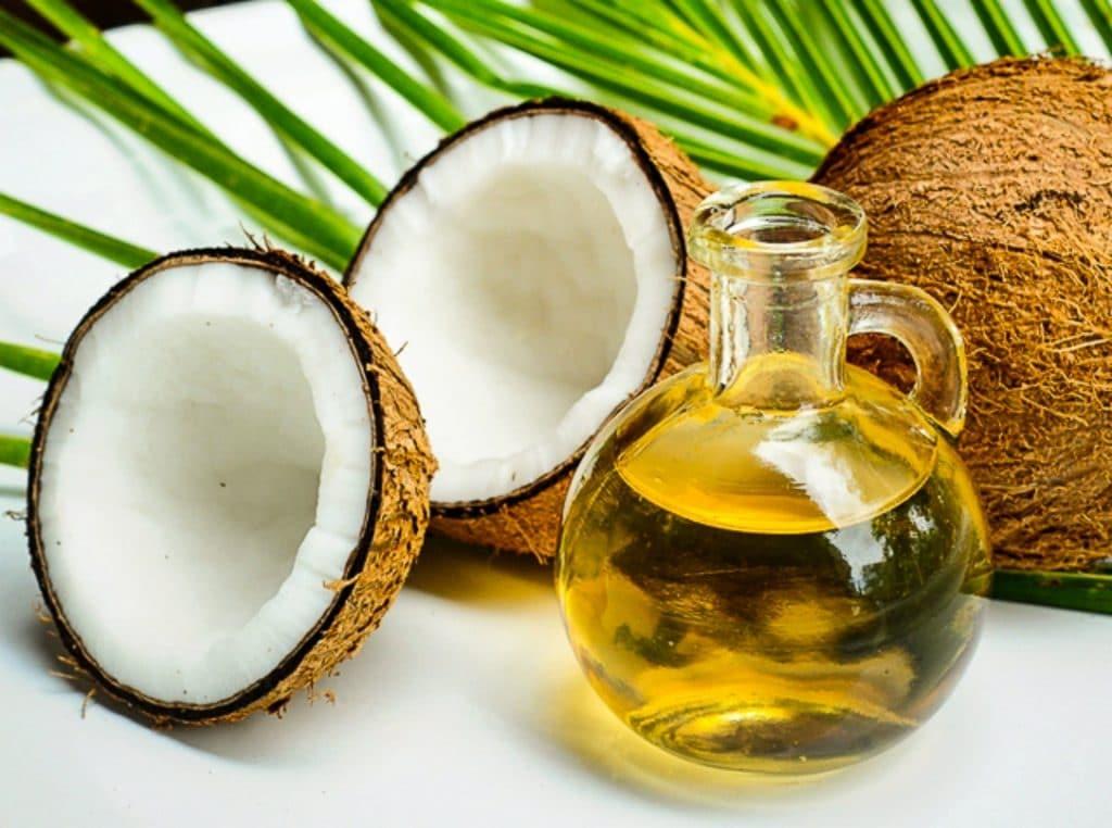 Aceite de coco para tratamiento natural de Blefaritis