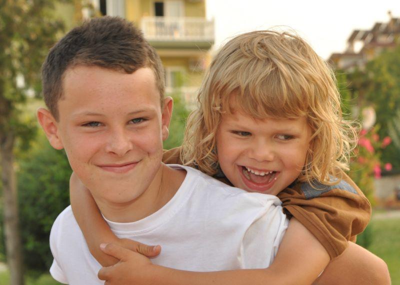 niños con Amaurosis congénita leber