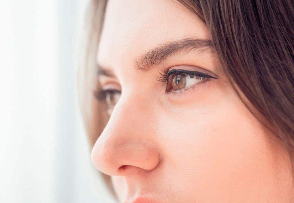 como queda la nariz antes y despues de una septoplastia