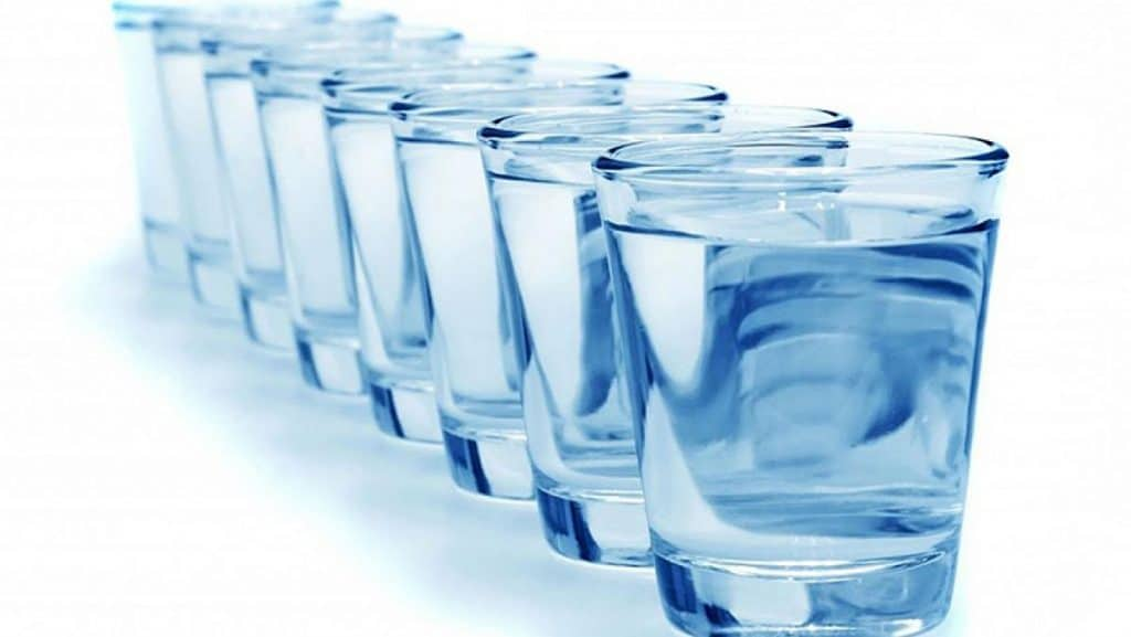 agua para nariz tapada
