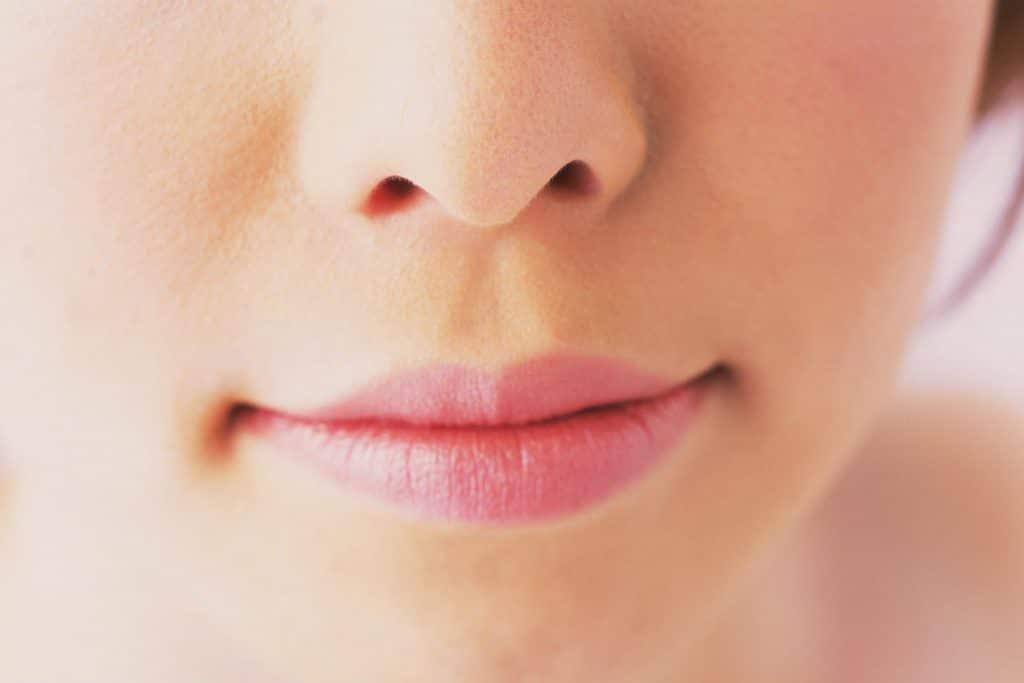 la nariz tapada