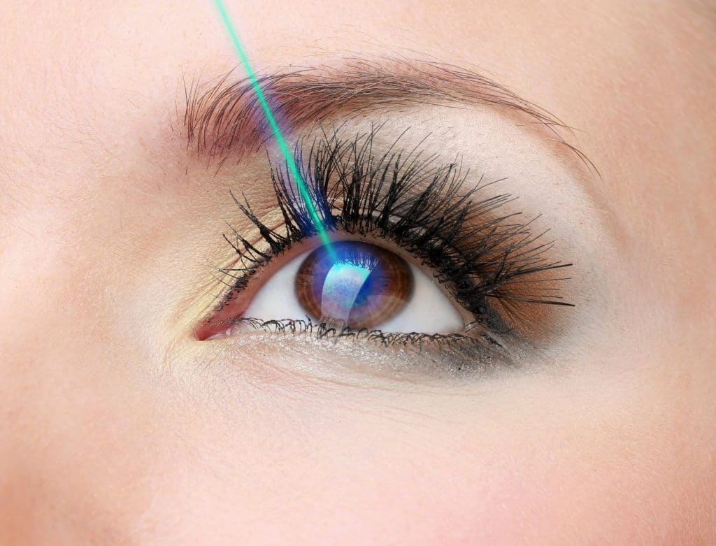 laser para retinopatia