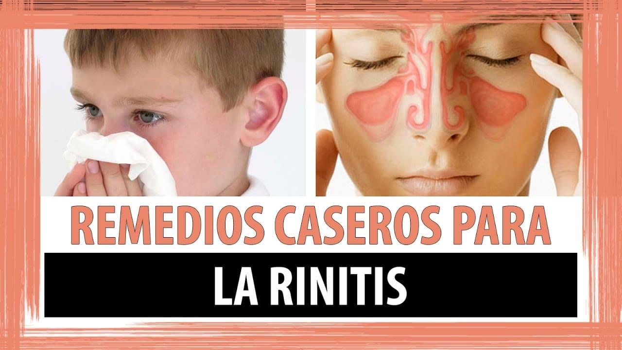 Como Curar La Rinitis Alergica En Niños Remedios Caseros Niños Relacionados