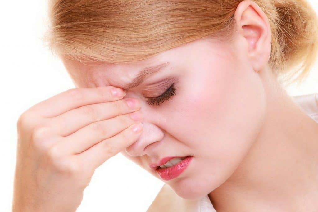 sintomas de la poliposis nasal