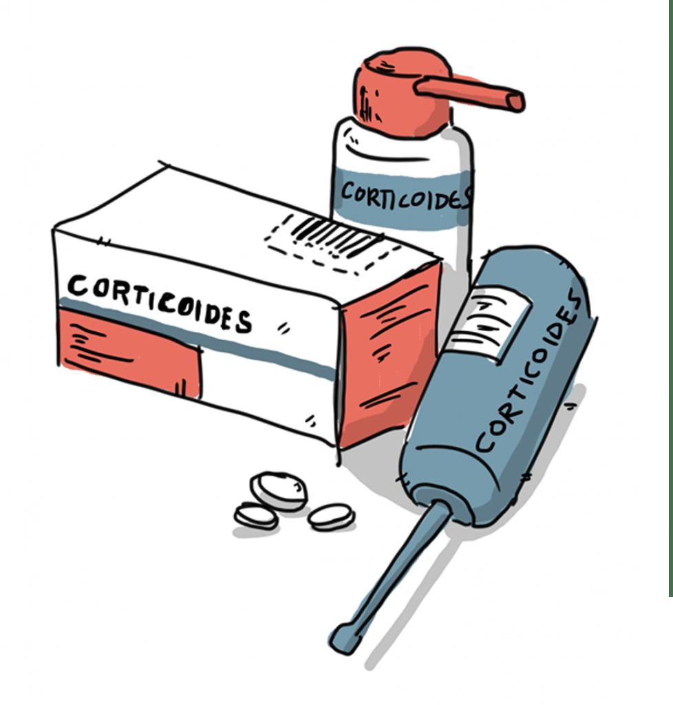 medicamentos para los sintomas de la poliposis nasal