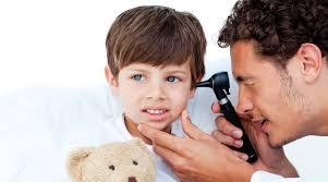 Dolor de oidos en niños