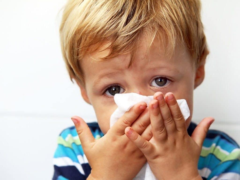 rinitis en niños