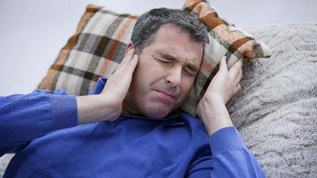 dolor intenso por Otitis