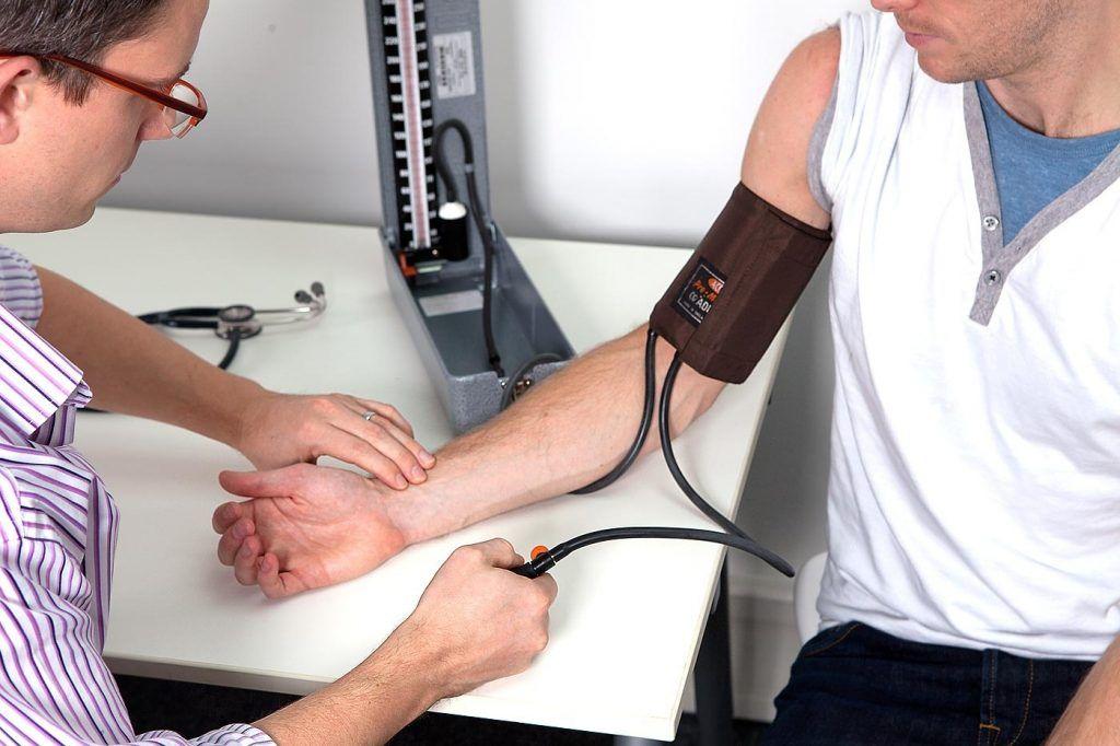 Presión arterial sistólica