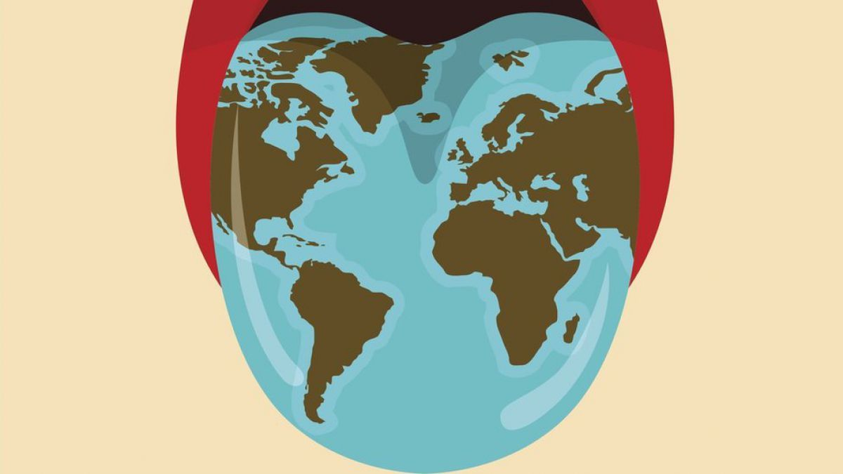 lengua geográfica en niños